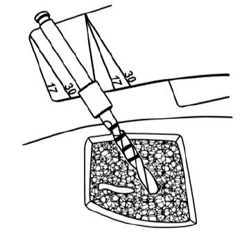 Fúrók orientálása COMFOUR megoldáshoz