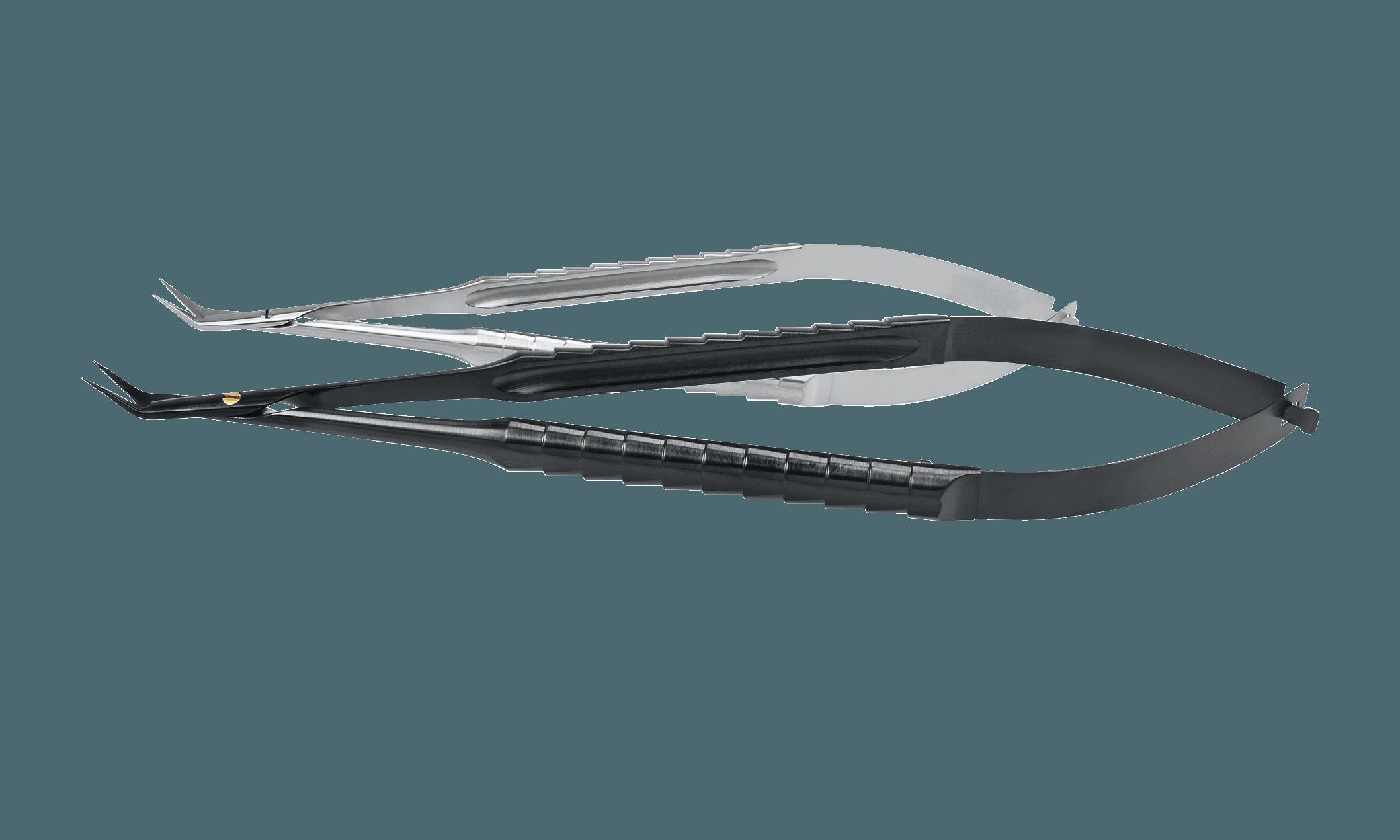 46.321.16 Micro Ollók, Onyx bevonatú eszközzel az előtérben