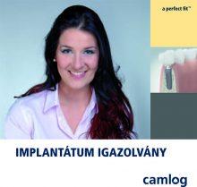 CAMLOG implantátum igazolvány